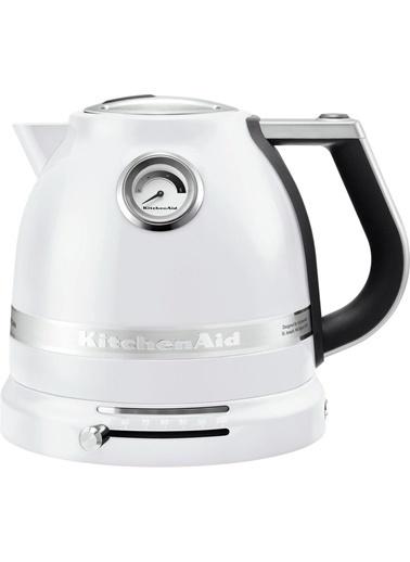 KitchenAid Artisan 1,5 Lt. Çelik Isı Göstergeli Kettle Beyaz